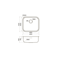 Кухонная мойка Omoikiri Omi 49-U-IN_3