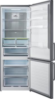 Холодильник-морозильник Korting KNFC 71887 X