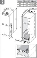 Встраиваемый холодильник-морозильник ASKO RFN31831i_1