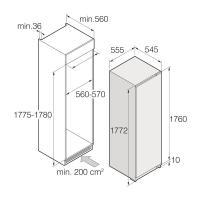 Встраиваемый холодильник ASKO R31842i_1