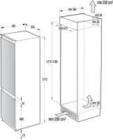 Встраиваемый холодильник-морозильник  ASKO RFN31842i_1