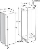 Встраиваемый холодильник ASKO R31831I_1