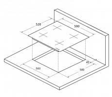 Индукционная варочная панель KUPPERSBERG ICS 604 W_3
