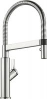 Смеситель для кухни Blanco Solenta-S Senso Нержавеющая сталь ручка справа