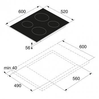 Индукционная варочная панель Asko HI1611G