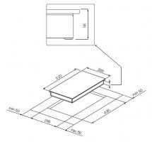 Индукционная варочная панель GRAUDE IK 30.1 W_3