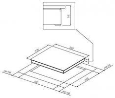 Индукционная варочная панель GRAUDE IK60.1E_1