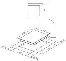 Индукционная варочная панель GRAUDE IK 45.0 S_3
