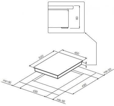 Индукционная варочная панель GRAUDE IK 45.0 S