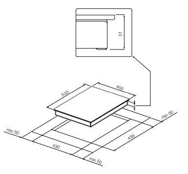 Электрическая варочная панель GRAUDE EK 45.0 S