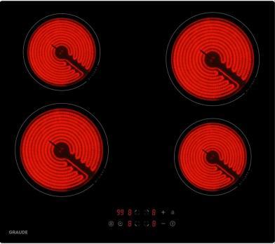 Электрическая варочная панель GRAUDE EK 60.0 S