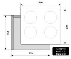 Индукционная варочная панель LEX EVI 640-2 IV_1