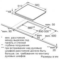 Электрическая варочная панель Neff T16BD76N0_1