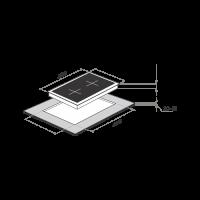Электрическая варочная панель Maunfeld MVCE31.2HL.SZ-BK_1