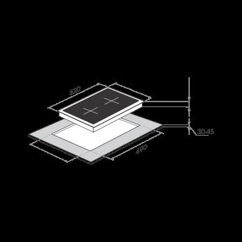 Электрическая варочная панель Maunfeld MVCE31.2HL.SZ-BK