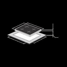 Электрическая варочная панель Maunfeld MVCE59.4HL.1SM1DZT-BK
