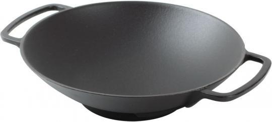 Чугунная сковорода-ВОК KORTING K 1128