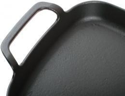 Компактная чугунная сковорода KORTING K 1122_2