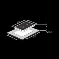 Электрическая варочная панель Maunfeld MVCE31.2HL.SZ-WH_1