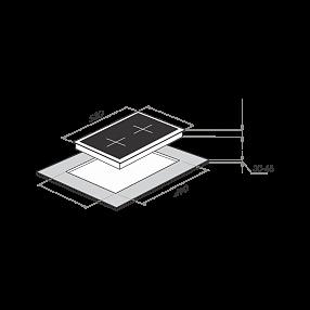 Электрическая варочная панель Maunfeld MVCE31.2HL.SZ-WH