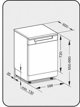 Посудомоечная машина Miele G 5210 SC
