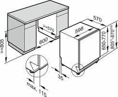 Встраиваемая посудомоечная машина Miele G 5260 SCVi_1