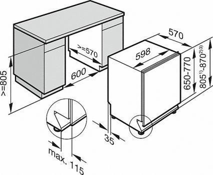 Встраиваемая посудомоечная машина Miele G 5260 SCVi