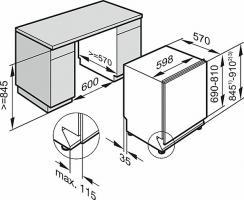 Встраиваемая посудомоечная машина Miele G 5265 SCVi XXL_2