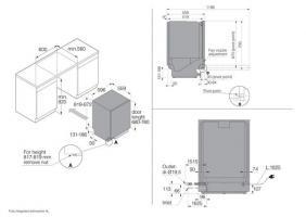 Встраиваемая посудомоечная машина Asko DFI444B/1_5