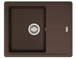 Кухонная мойка Franke Basis BFG 611-62 шоколад_0