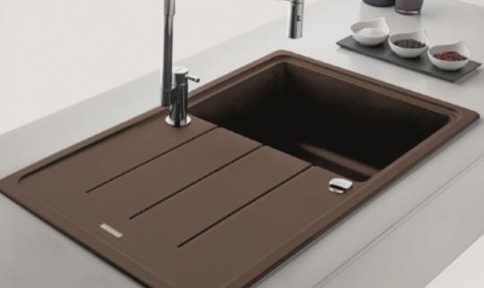 Кухонная мойка Franke Basis BFG 611-62 шоколад