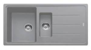 Кухонная мойка Franke Basis  BFG 651 серый_0