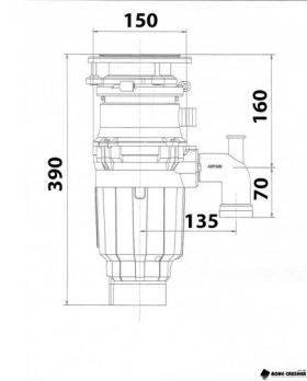 Измельчитель Bone Crusher BC 910 SL