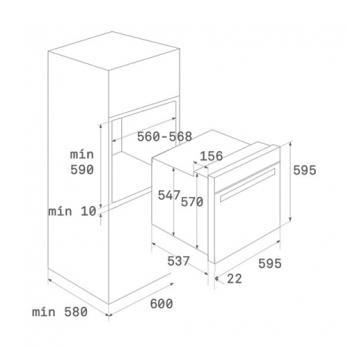Духовой шкаф TEKA HLB 840 P STAINLESS STEEL
