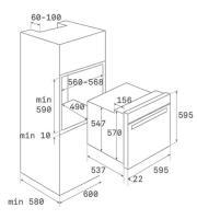 Духовой шкаф TEKA HLB 860 STAINLESS STEEL_1