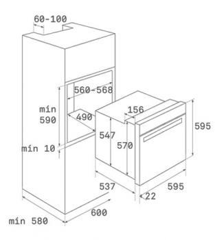 Духовой шкаф TEKA HLB 860 STAINLESS STEEL
