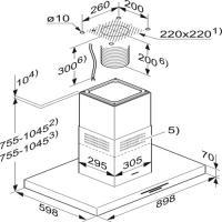 Т-образная островная Miele DA 4208 V D Puristic Varia_2