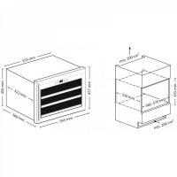 Винный шкаф Cold Vine C18-KBB1_6