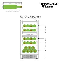 Винный шкаф Cold Vine C23-KBT2_8