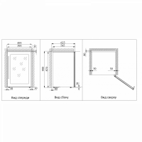 Винный шкаф Cold Vine C24-KSF2_5