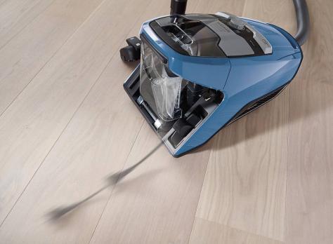 Пылесос Miele SKCR3 Blizzard CX1 Parquet синий
