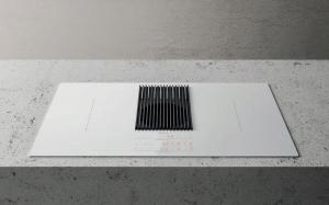 Индукционная варочная панель с интегрированной вытяжкой Elica NIKOLATESLA LIBRA WH/F/83_0