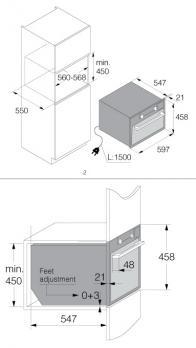Встраиваемая микроволновая печь ASKO OM8464S
