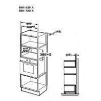 Встраиваемая микроволновая печь Korting KMI 825 XN_1