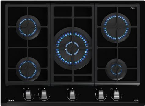 Газовая варочная панель Teka GZC 75330 XBN NIGHT RIVER BLACK