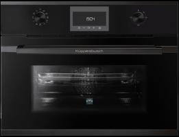 Встраиваемый духовой шкаф с микроволнами Kuppersbusch CBM 6350.0 S2 Black Chrome