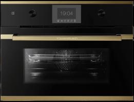Встраиваемый духовой шкаф с микроволнами Kuppersbusch CBM 6350.0 S4 Gold