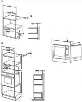 Встраиваемая микроволновая печь Teka MWE 207 FI STAINLESS STEEL_1