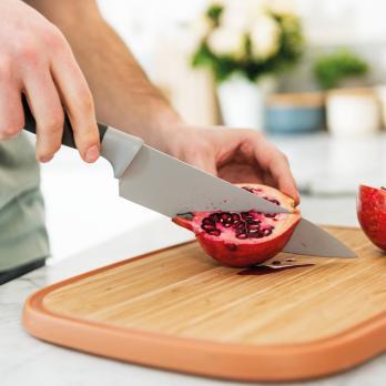 Нож поварской  BergHOFF Leo 19см (серый)