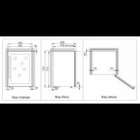 Винный шкаф COLD VINE  C12-KSF1_5